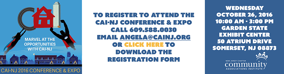 CAI-NJ 2016 Conference and Expo